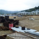 The Port of Airlie development recently went into receivership.