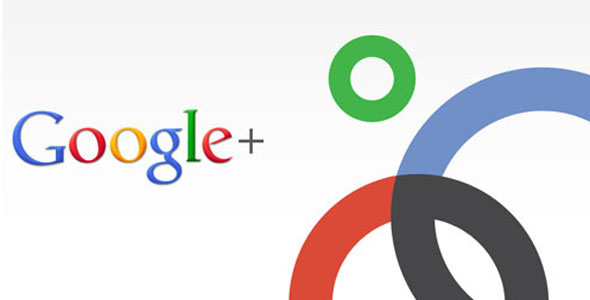Google+ logo and circles