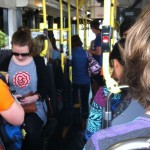 Students irritated by public transport delays