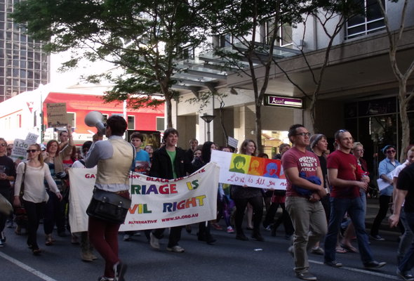 Marriage equality debate rages on