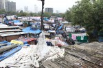 Mumbai's largest open air laundry, the Dhobi Ghat
