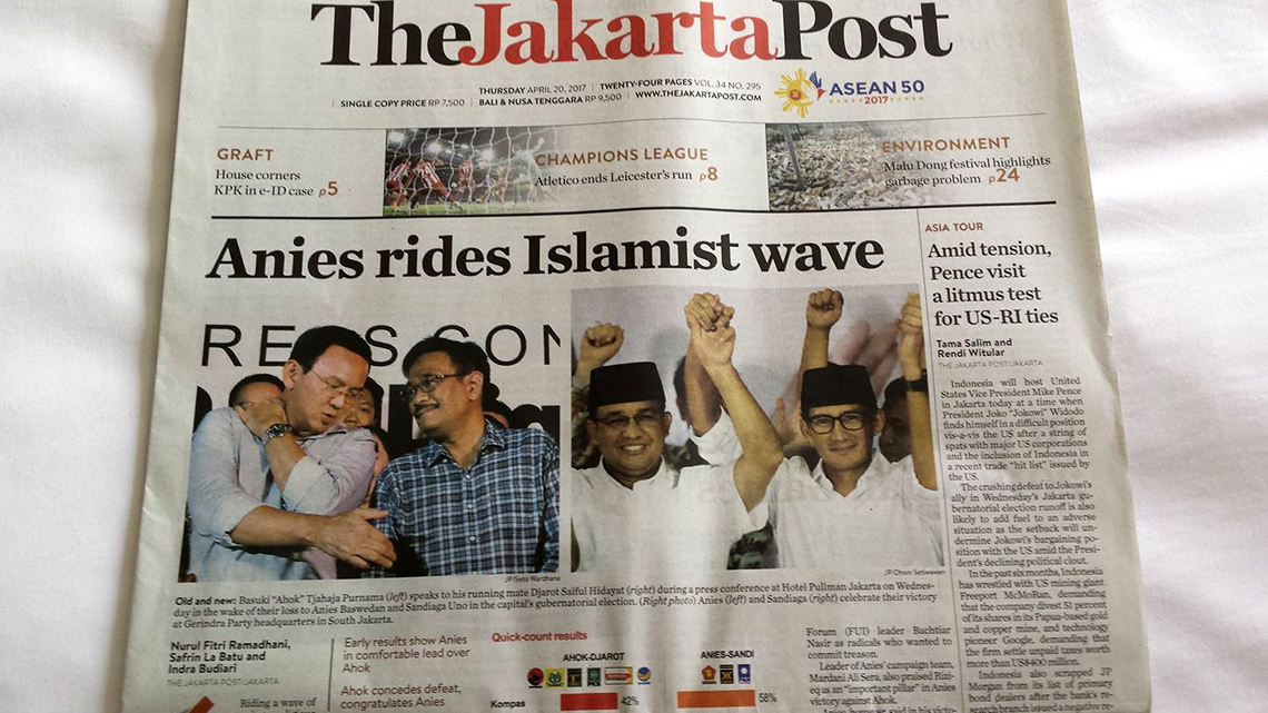 Anies elected Governor after divisive election campaign