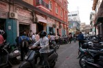 The pharmacy district in Jaipur's city centre.
